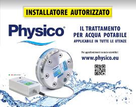 Installatore autorizzato physico-trattamento depurazione acqua